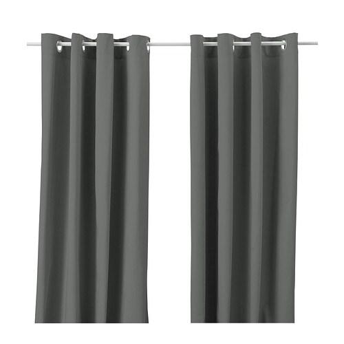 merete rideau 2 panneaux 145x250 cm ikea. Black Bedroom Furniture Sets. Home Design Ideas