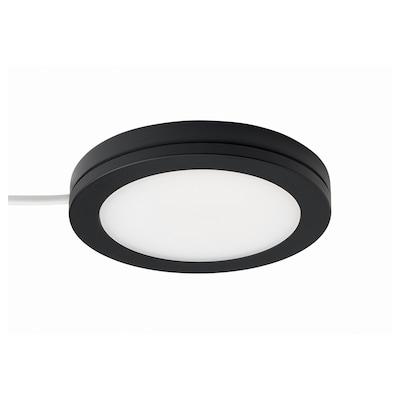 MITTLED Spot à DEL, intensité lumineuse réglable noir