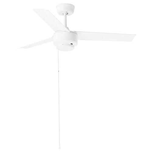 """MOLNIGHET ventilateur plafond 3 pales plastique blanc 13 """" 41 """" 40 W"""