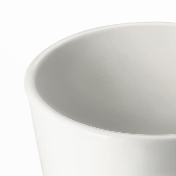 "MUSKOT Cache-pot, blanc, 4 ¾ """
