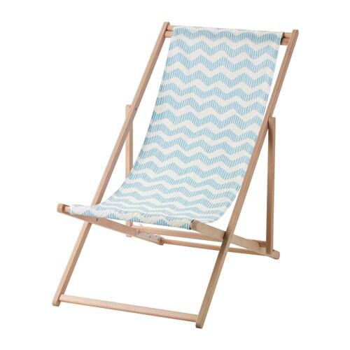mysings chaise de plage pliant bleu clair ikea. Black Bedroom Furniture Sets. Home Design Ideas