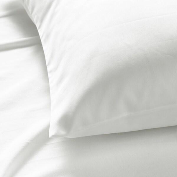 NATTJASMIN Taie d'oreiller, blanc, Très grand deux places