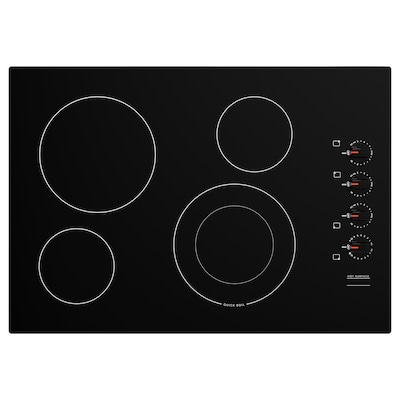 """NEDDRAGEN Table de cuisson vitrocéramique, noir, 30 """""""