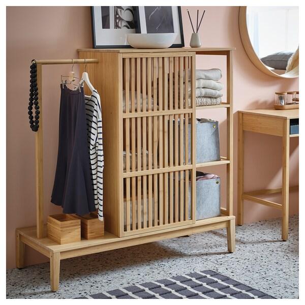 IKEA NORDKISA Armoire ouverte av porte couliss
