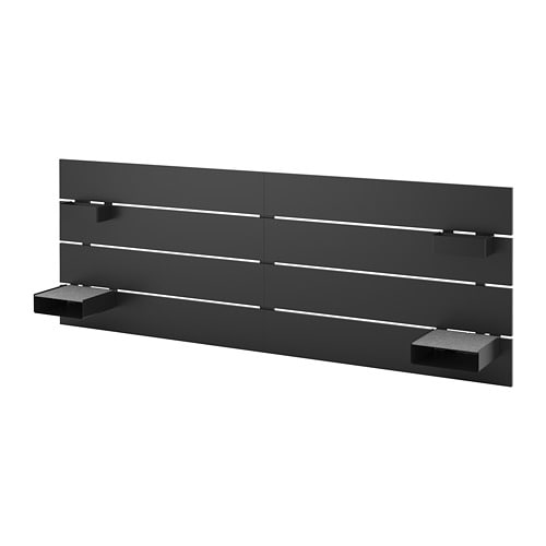 nordli t te de lit anthracite 140 160 cm ikea. Black Bedroom Furniture Sets. Home Design Ideas