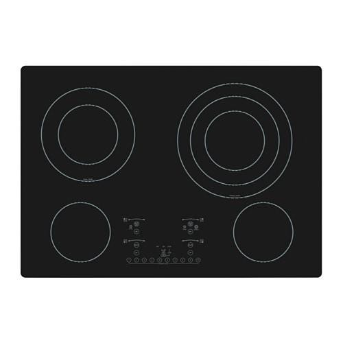 Nutid tble cuisson vitroc ramique 4 lts ikea for Ikea table de cuisson