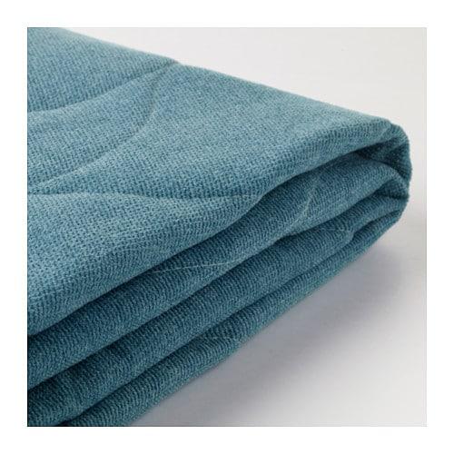 Nyhamn housse canap lit borred vert bleu ikea for Ikea canape vert