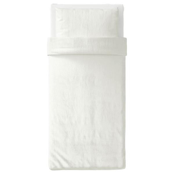 OFELIA VASS Housse de couette et taie(s), blanc, Une place