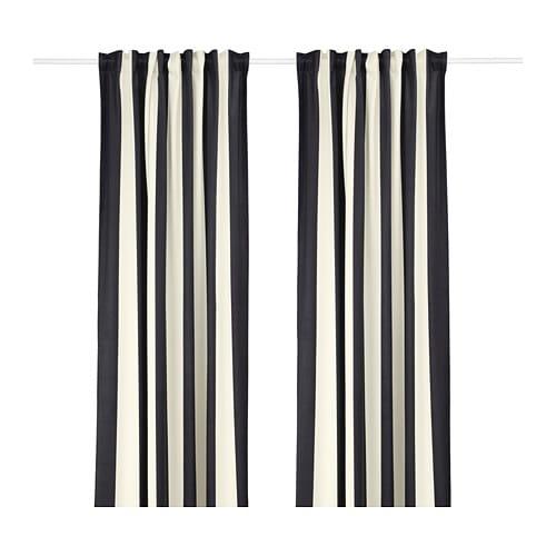 omedelbar rideau 2 panneaux ikea. Black Bedroom Furniture Sets. Home Design Ideas