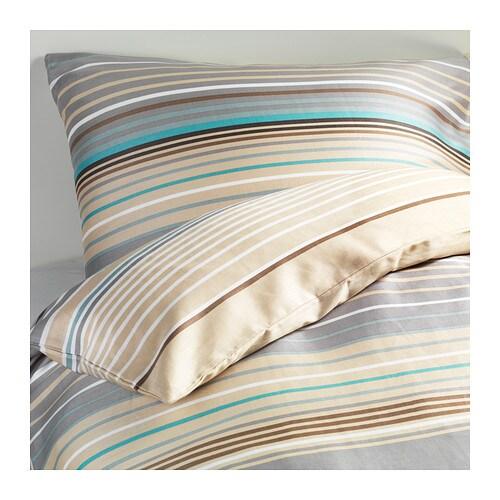 palmlilja housse de couette et taie s deux places grand deux places ikea. Black Bedroom Furniture Sets. Home Design Ideas
