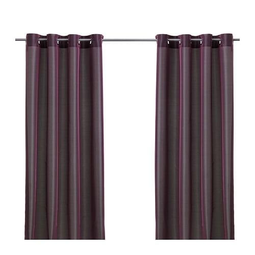 p rlbuske rideau 2 panneaux ikea. Black Bedroom Furniture Sets. Home Design Ideas