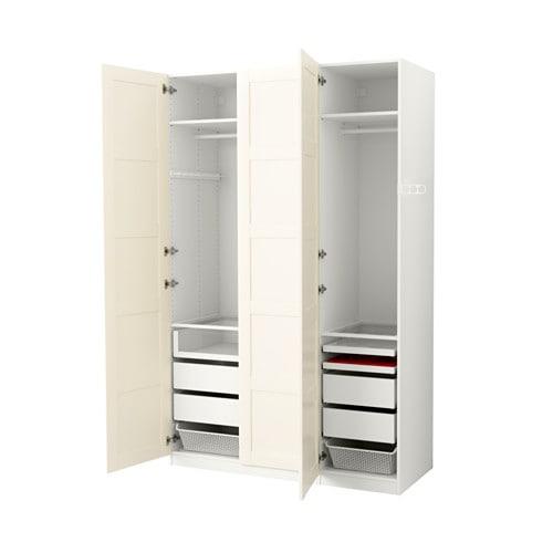 pax armoire penderie 150x60x236 cm charni res standard ikea. Black Bedroom Furniture Sets. Home Design Ideas