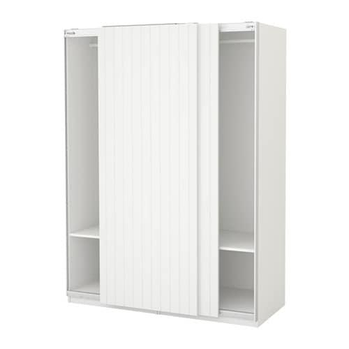 Pax armoire penderie 150x66x201 cm ikea - Armoire penderie blanc ...