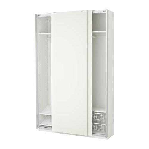 pax armoire penderie 150x44x236 cm ikea. Black Bedroom Furniture Sets. Home Design Ideas