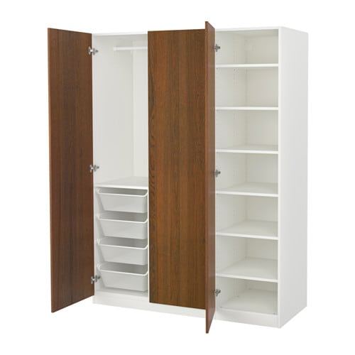 pax armoire penderie 150x60x201 cm ikea. Black Bedroom Furniture Sets. Home Design Ideas
