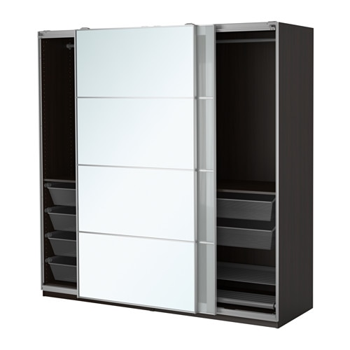 pax armoire penderie 200x66x201 cm amortisseur pour. Black Bedroom Furniture Sets. Home Design Ideas