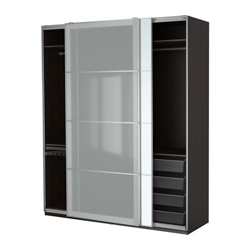 pax armoire penderie 200x66x236 cm ikea. Black Bedroom Furniture Sets. Home Design Ideas