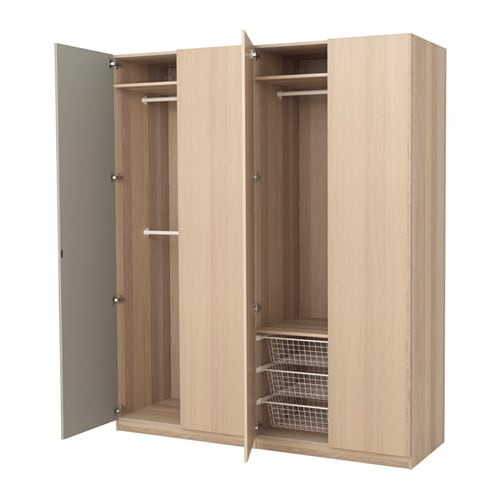 pax armoire penderie charni res standard ikea. Black Bedroom Furniture Sets. Home Design Ideas