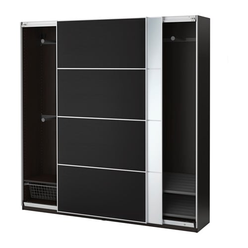 pax armoire penderie 200x44x201 cm ikea. Black Bedroom Furniture Sets. Home Design Ideas