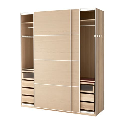 pax armoire penderie 200x66x236 cm amortisseur pour. Black Bedroom Furniture Sets. Home Design Ideas