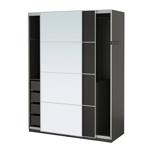 pax armoire penderie 150x66x201 cm amortisseur pour. Black Bedroom Furniture Sets. Home Design Ideas
