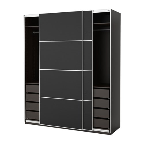 pax armoire penderie 200x66x236 cm amortisseur pour porte coulissante ikea. Black Bedroom Furniture Sets. Home Design Ideas