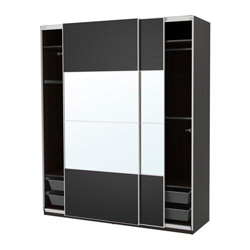 pax armoire penderie 200x66x236 cm amortisseur pour porte coulissante ikea. Black Bedroom Furniture Sets. Home Design Ideas