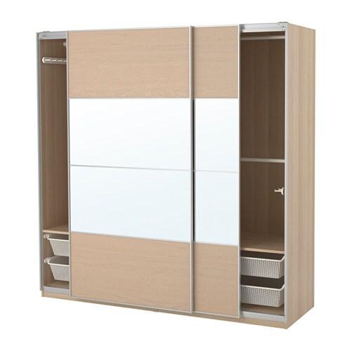 pax armoire penderie 200x66x201 cm amortisseur pour porte coulissante ikea. Black Bedroom Furniture Sets. Home Design Ideas