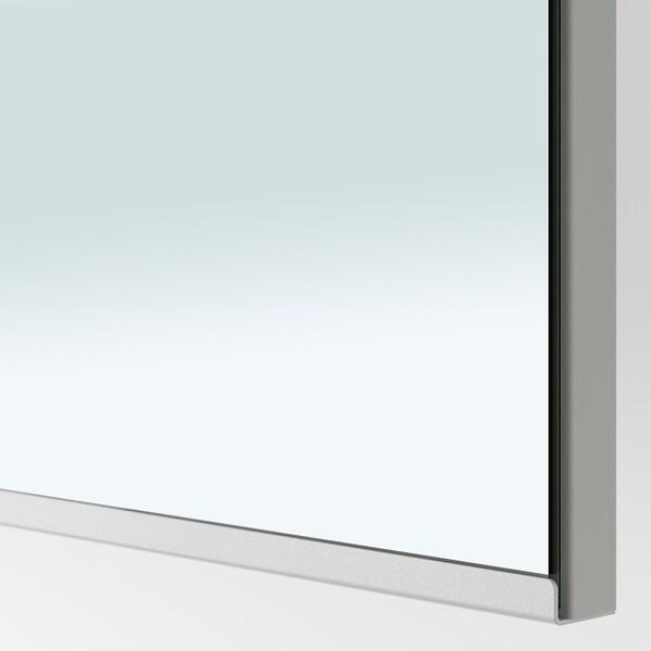 """PAX / GRIMO/VIKEDAL Penderie d'angle, blanc/verre miroir, 82 3/4/63 1/8x93 1/8 """""""