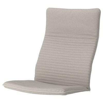 POÄNG Coussin fauteuil, Knisa beige clair