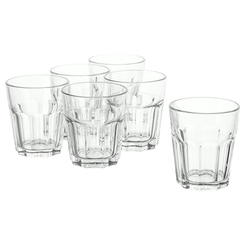 """POKAL verre verre clair 4 """" 9 oz 6 pièces"""