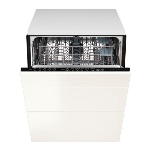 Renlig lave vaisselle encastrable 3faces veddinge blanc - Meuble lave vaisselle ikea ...