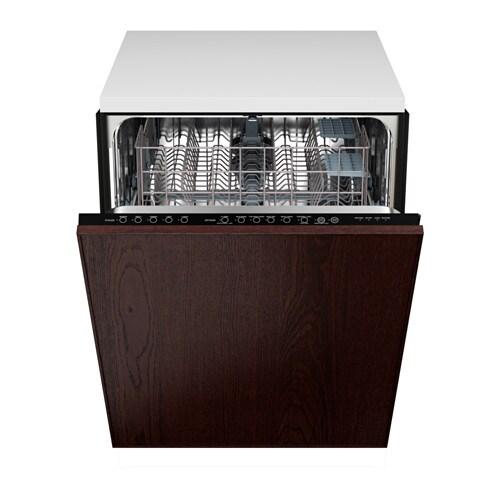 Renlig lave vaisselle encastrable pte ekestad brun ikea - Ikea lave vaisselle encastrable ...