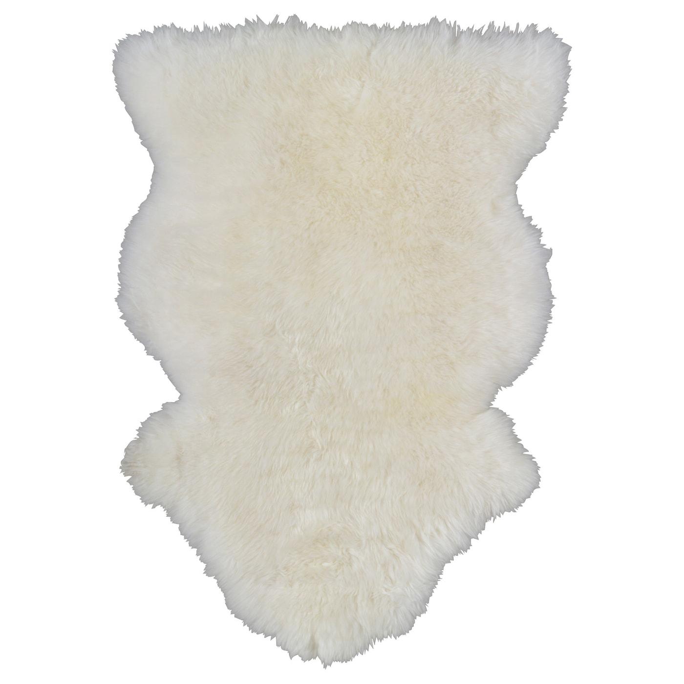 Peau De Mouton Grise Ikea rens peau de mouton - blanc