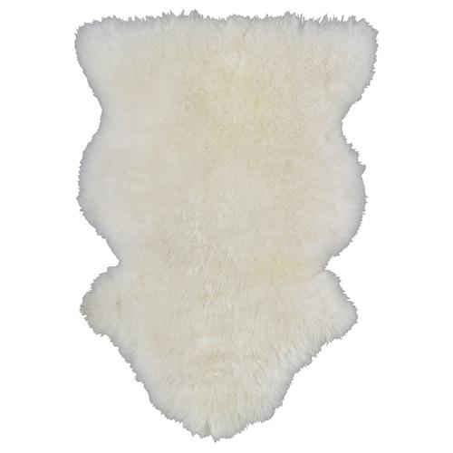 """RENS peau de mouton blanc 28 """" 16 """" 3.01 pied carré"""