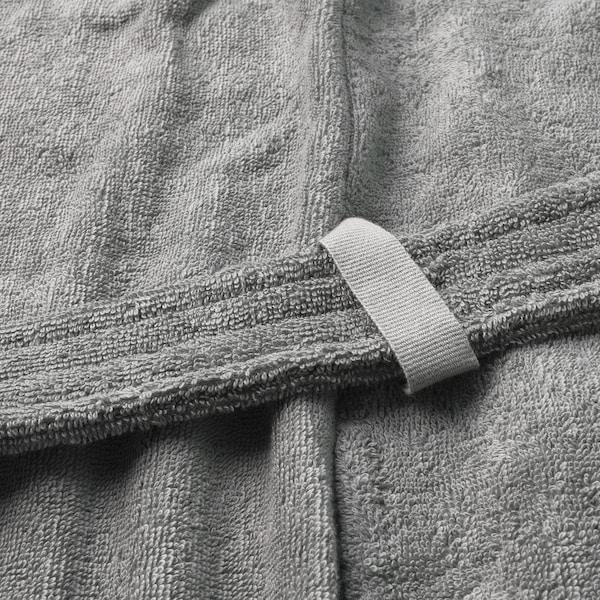 ROCKÅN Peignoir, gris, Petit/moyen