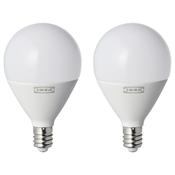 RYET Ampoule à DEL E12 450 lumens, sphérique opalin
