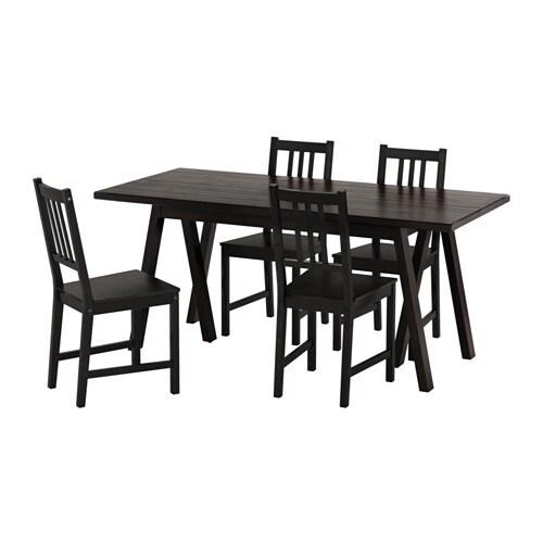 RYGGESTAD GREBBESTAD STEFAN Table Et 4 Chaises IKEA Le Plateau De Comporte Des