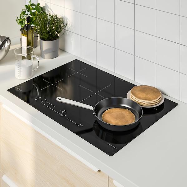 """SÄRDRAG Table de cuisson à induction, noir, 30 """""""