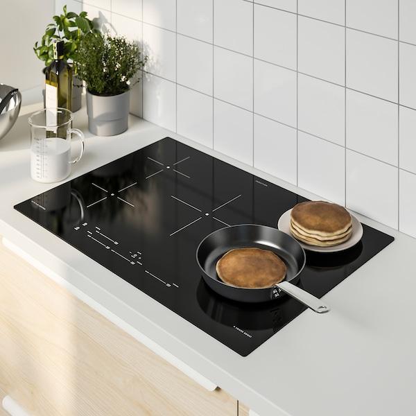 """SÄRKLASSIG Table de cuisson à induction, noir, 30 """""""