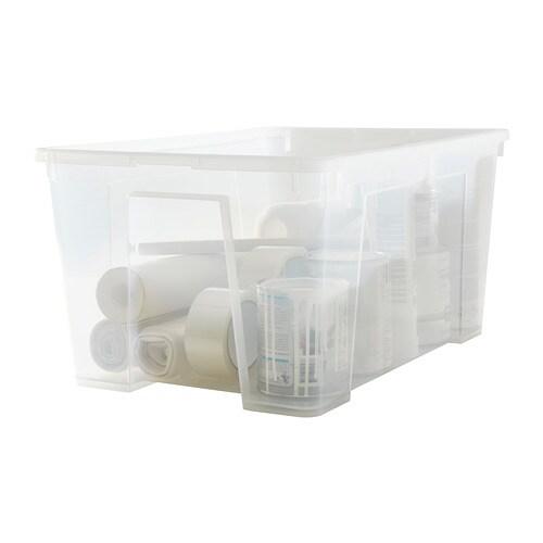 "Samla Bac Avec Couvercle - 22 ½X15 ¼X11 ""/12 Gallon - Ikea"