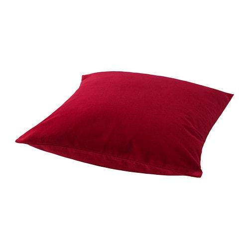 Sanela housse de coussin ikea for Housse de coussin rouge