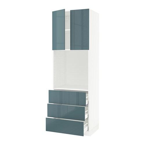 sektion arm hte four 3 tir 2 ptes blanc ma kallarp ultrabrillant gris turquoise 30x24x90. Black Bedroom Furniture Sets. Home Design Ideas