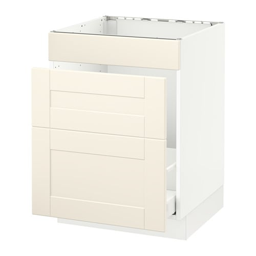 sektion arm inf vier tri 3 faces blanc grimsl v blanc cass 24x24x30 ikea. Black Bedroom Furniture Sets. Home Design Ideas