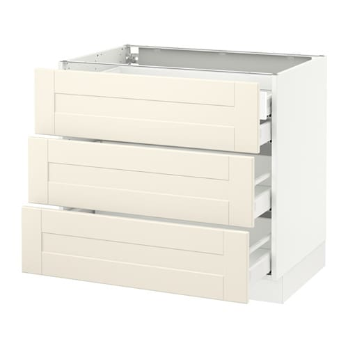 sektion arm inf 3 faces 4 tiroirs blanc ma grimsl v blanc cass 36x24x30 ikea. Black Bedroom Furniture Sets. Home Design Ideas
