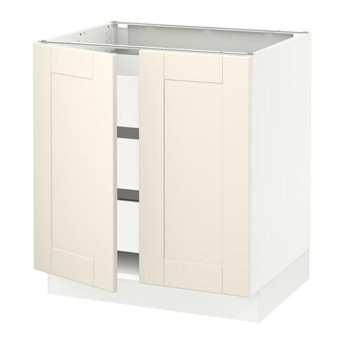sektion arm inf 2 ptes 3 tir blanc ma grimsl v blanc cass 30x24x30 ikea. Black Bedroom Furniture Sets. Home Design Ideas