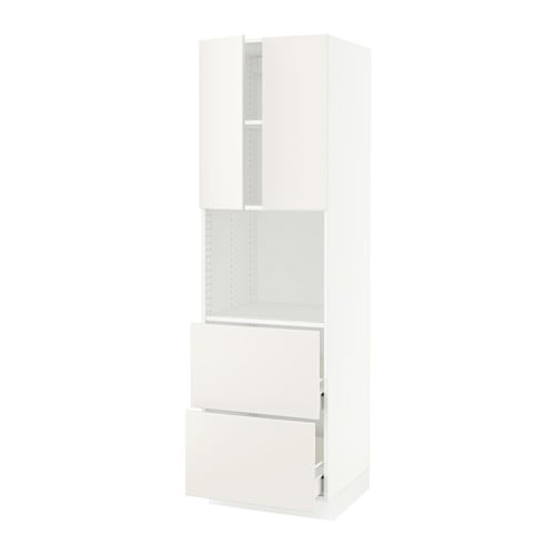 sektion arm micro 2tir 2ptes blanc f veddinge blanc 24x24x80 ikea. Black Bedroom Furniture Sets. Home Design Ideas