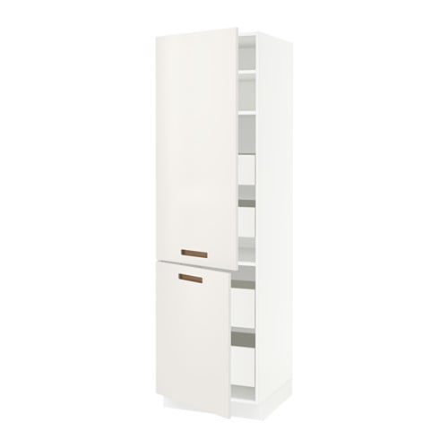 sektion arm 2 portes tablettes 4 tiroirs blanc f m rsta blanc 24x24x80 ikea. Black Bedroom Furniture Sets. Home Design Ideas