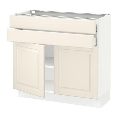 sektion armoire inf 2 portes 2 tir blanc ma bodbyn blanc cass 36x15x30 ikea. Black Bedroom Furniture Sets. Home Design Ideas