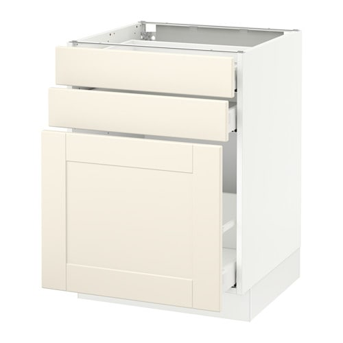 sektion armoire inf rgt coulissant 2tiroirs blanc grimsl v blanc cass 24x24x30 ikea. Black Bedroom Furniture Sets. Home Design Ideas